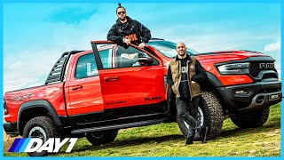 4X4 SUPERCAR?! RAM TRX |American Muscle | DAILY DRIVER| DAY1