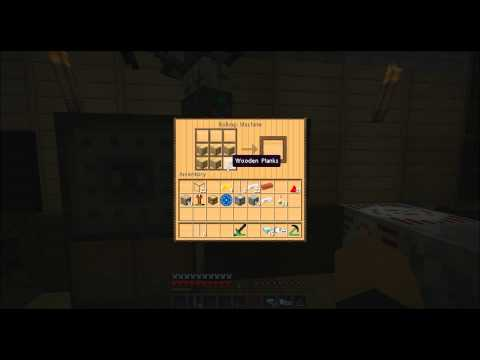 Minecraft Tekkit - How To Make And Use A Tunnel Bore,Rolling Machine,Coke Oven