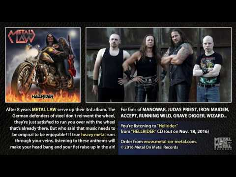 "METAL LAW ""Hellrider"" (taken from the album ""Hellrider"")"