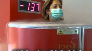 International Health & Beauty Clinics Cryotherapy with Cryomed
