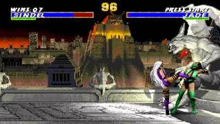 Ultimate Mortal Kombat 3 Sindel