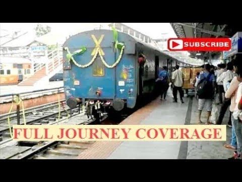 For the first time ever in YouTube : Complete journey coverage on 12295 Sanghamitra Exp