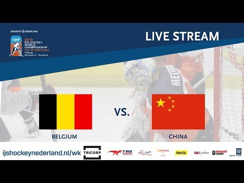 Live Stream WC Ice Hockey Division II Group A: Belgium vs. China April 29th 2018