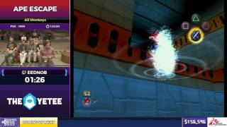Ape Escape by Eednob in 1:28:30 - SGDQ2017 - Part 22