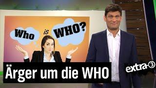 WHO: Gesundheitsorganisation im Zwielicht