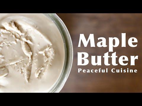 Maple Butter ☆ メープルバターの作り方