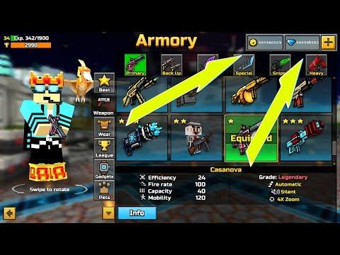 NEW WORKING PIXEL GUN 3D HACK!!! - WORKS 100%!!!