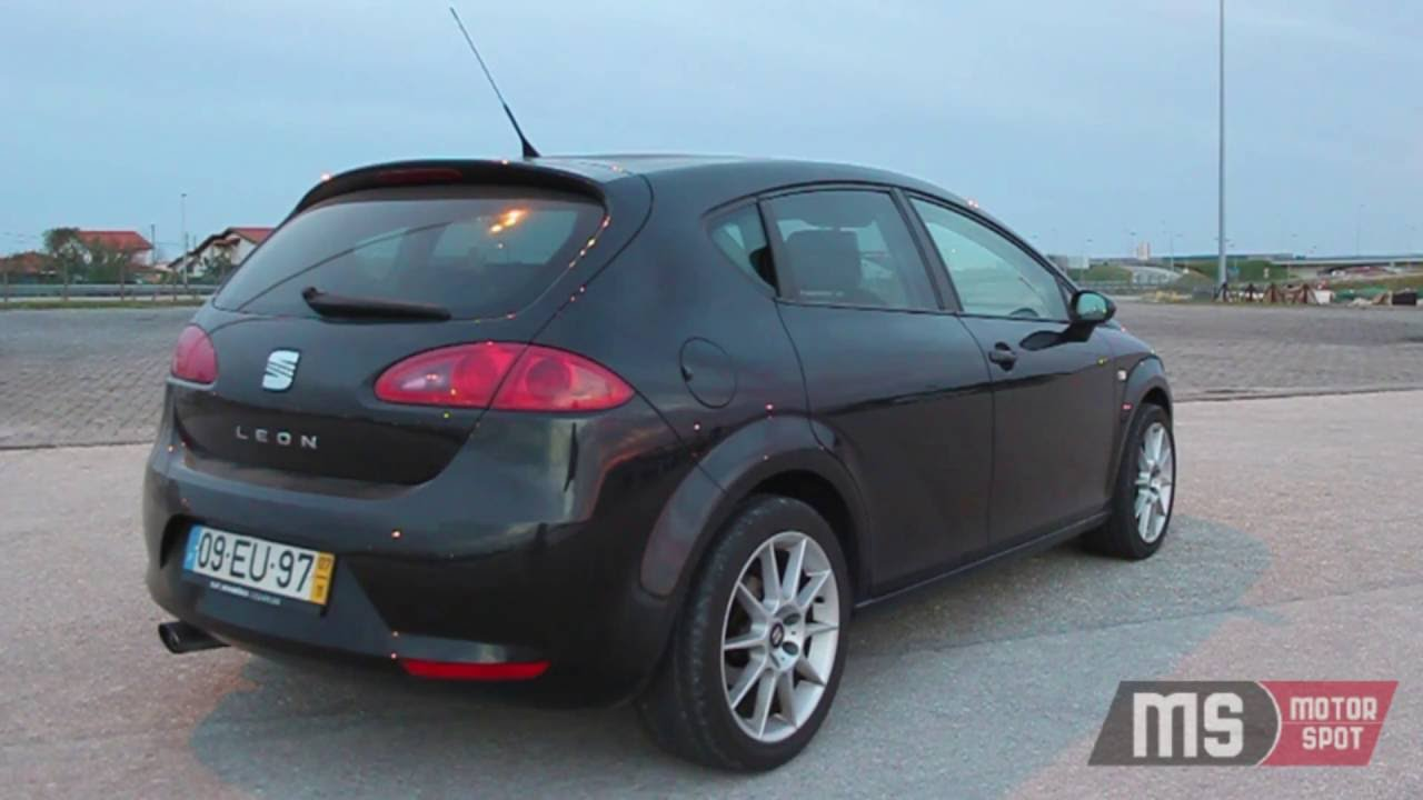 seat leon 1p 1 9tdi ensaio portugal youtube. Black Bedroom Furniture Sets. Home Design Ideas