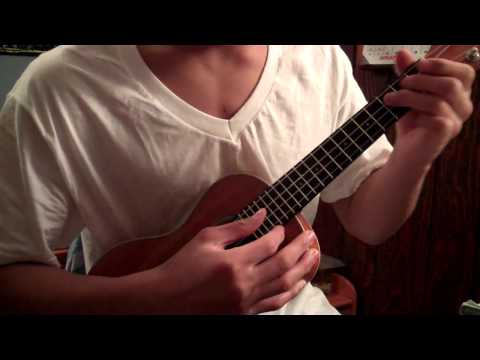 Kiss you in the morning, solo, ukulele