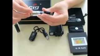 E-Cig.com Deluxe CE4 Video tutorial