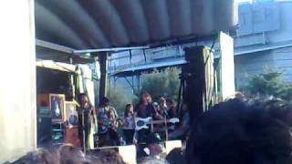Escape The Fate Live warped tour 09 in San Antonio Tx