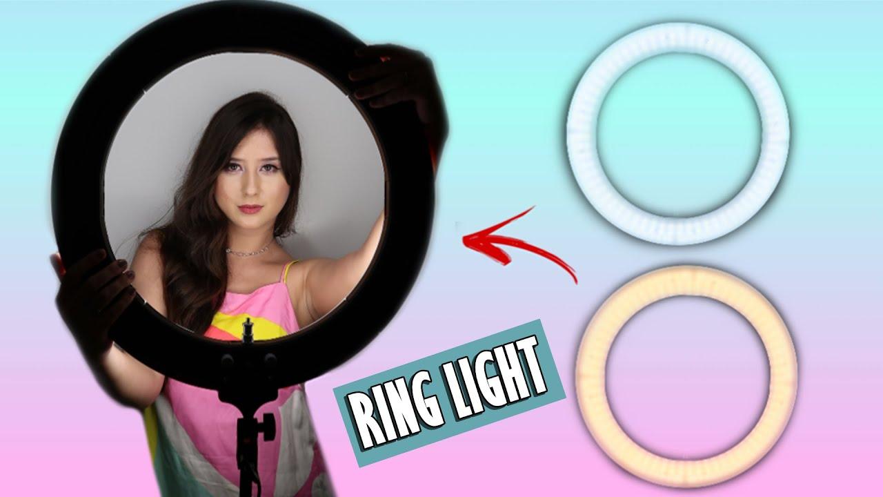 RING LIGHT: ILUMINAÇÃO PERFEITA PARA FOTOS E VIDEOS!!!