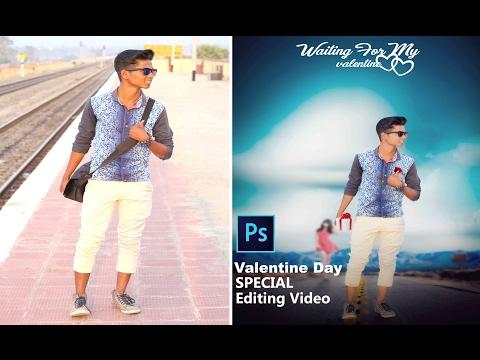 Valentine Day Special adobe Photoshop Editing Tutorial 2017 VOL 1