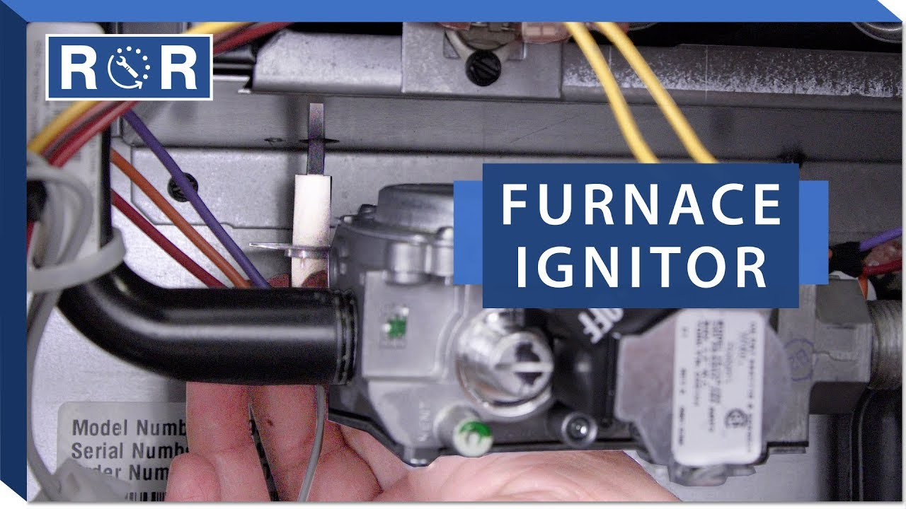 Furnace - Ignitor | Repair and Replace - YouTube