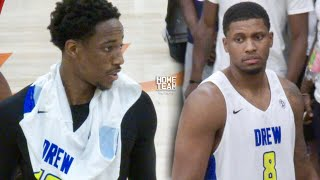 Demar DeRozan & Rudy Gay TEAM UP & SHOW OUT at The Drew League! San Antonio Spurs Duo