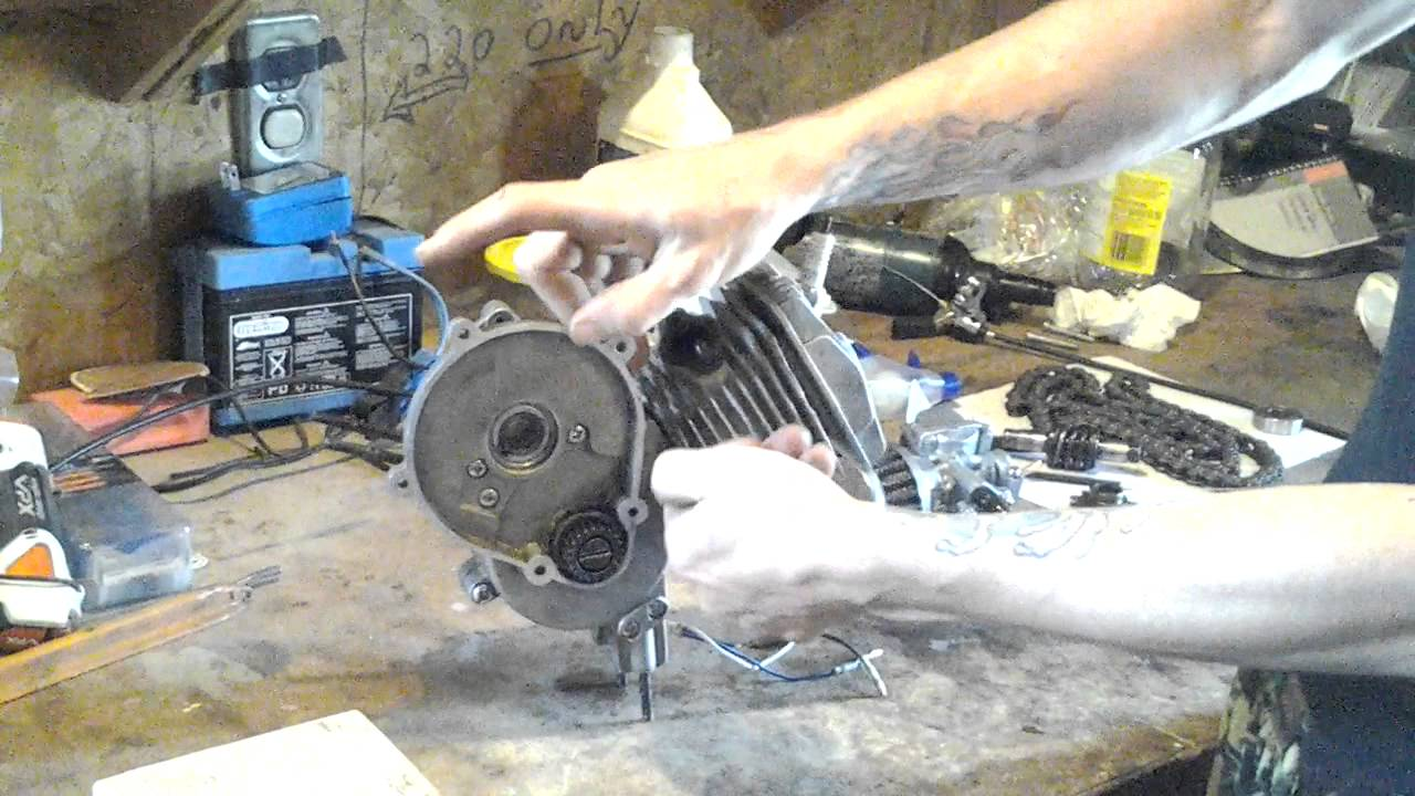 Centrifugal Clutch 2-Stroke Engine 49cc 66cc 80cc motorized bicycle