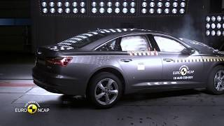 Crash Tests 2018 Audi A6 crash tests 2018