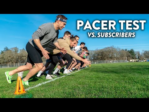 PACER Fitness Test (Beep Test) Vs. Subscribers