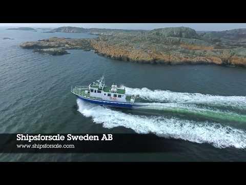 Shipsforsale Sweden passenger vessel Trindeln built at Fjellstand Aluminium. Sold.