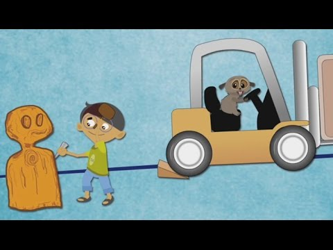 what is a wedge? (with narration) simple machines | science for kids