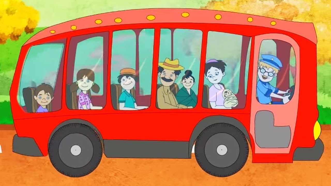 Nursery Rhymes for Children | Wheels On The Bus ...