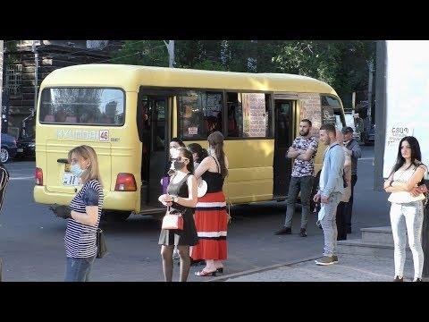 Ереван, 31.05.20, Su, ул.Абовян+Исаакян, день 74-ый, Video-2.