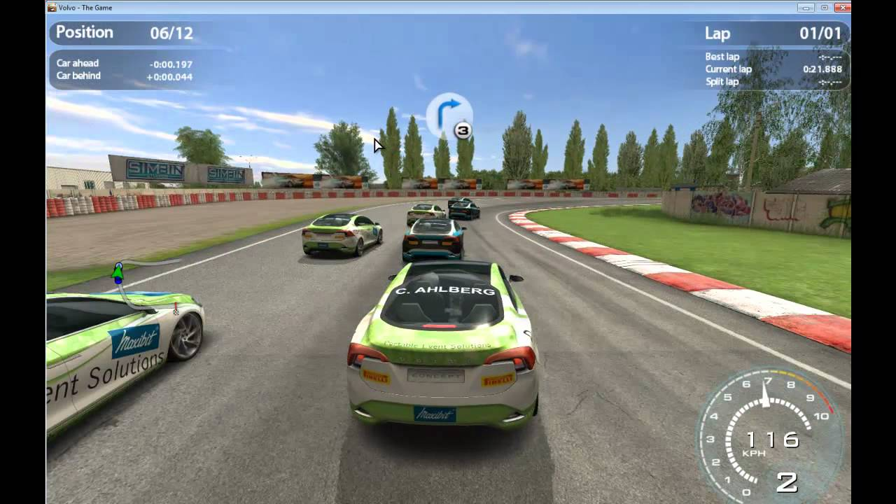 Volkswagen Volvo The Game - Free PC Racing Game - YouTube