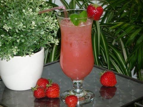 Leckere Sommer-Limonaden #3: Erdbeer-Limonade (Strawberry Lemonade)