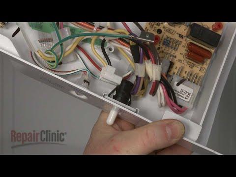Light Switch - Whirlpool Refrigerator #ED2KVEXVB01