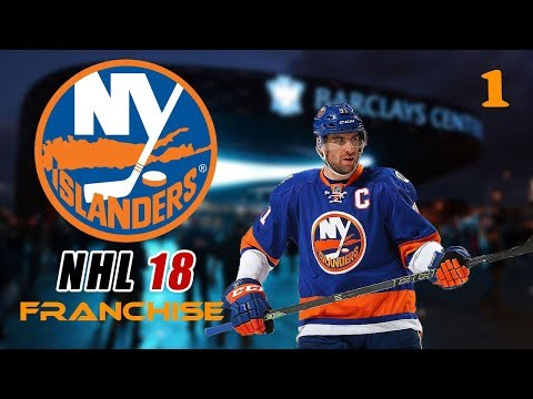 NHL 18 New York Islanders Franchise Mode - Episode 1 (Reviewing The Team)