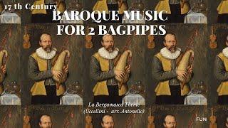 La Bergamasca - Dudey Bagpipe, Harpsichord, Viols, Lute