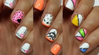3 Easy Nail Art Designs for Short Nails | Freehand #3