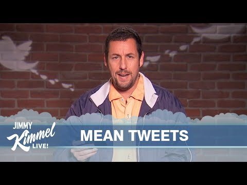 Watch Chris Pratt, Adam Sandler, And Other Celebrities Read Mean Tweets About Themselves On 'Kimmel'