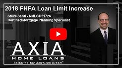 2018 FHFA Loan Limit Increase