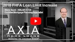 2018 FHFA Loan Limit Increase