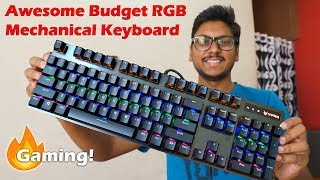 RGB Mechanical Gaming Keyboard on a Budget? Rapoo V500 Pro Review