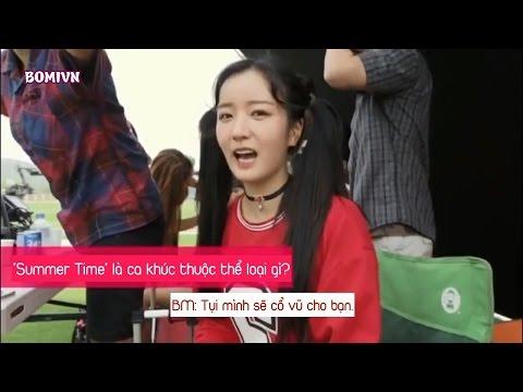[BOMIVN][VIETSUB] APink Making of Summer Time MV