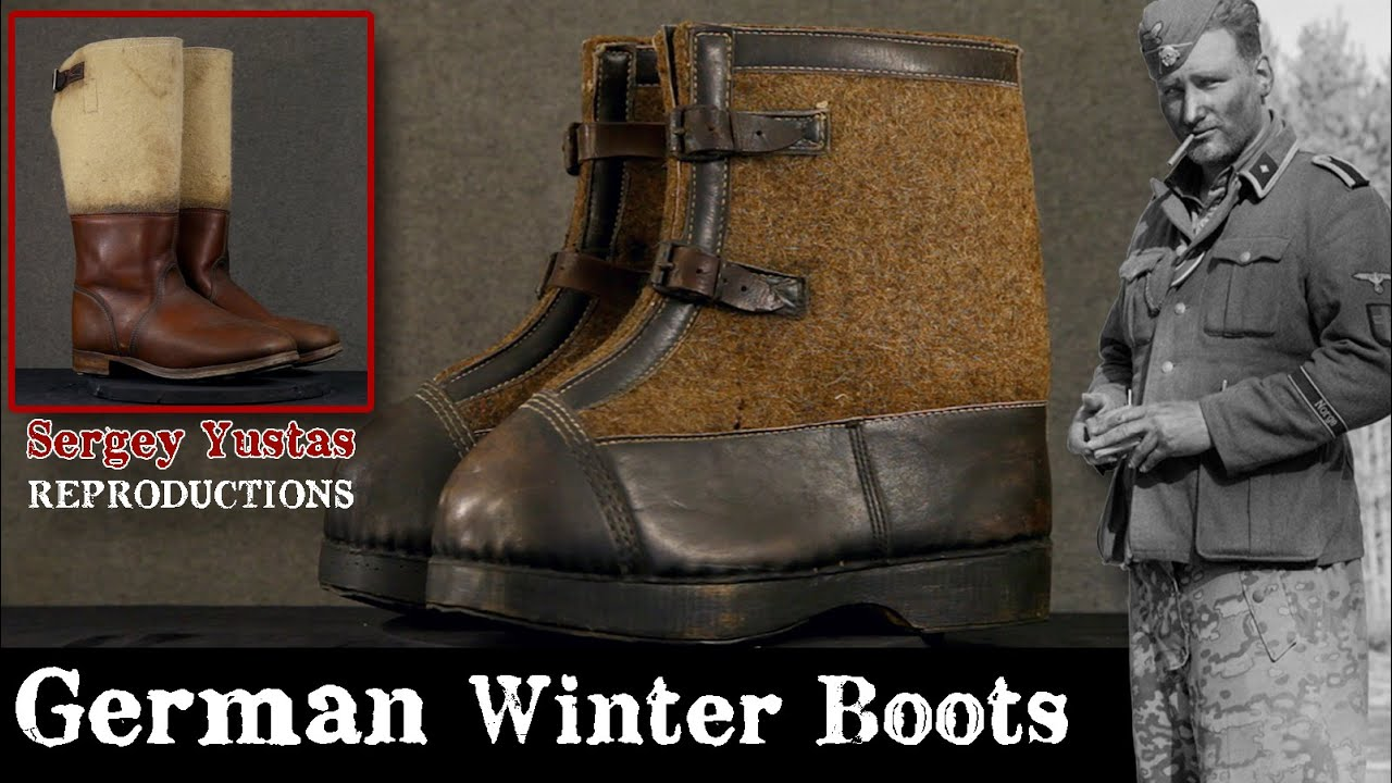 WWII History & Reenacting German Repro Mountain Boots