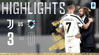Juventus 3-0 Sampdoria | Kulusevski, Bonucci & Ronaldo Score on Opening Day! | Serie A Highlights