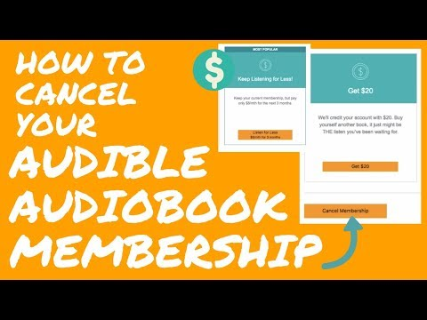 How To Cancel Your Audible Audiobook Membership