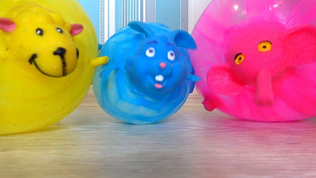 видео для детей про смешные шарики - смешарики