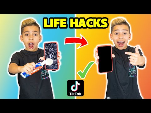 i-tested-viral-tiktok-life-hacks!-**they-worked**-(part-4)-|-the-royalty-family