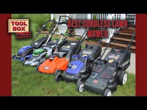 Best Cordless Lawn Mower Head to Head
