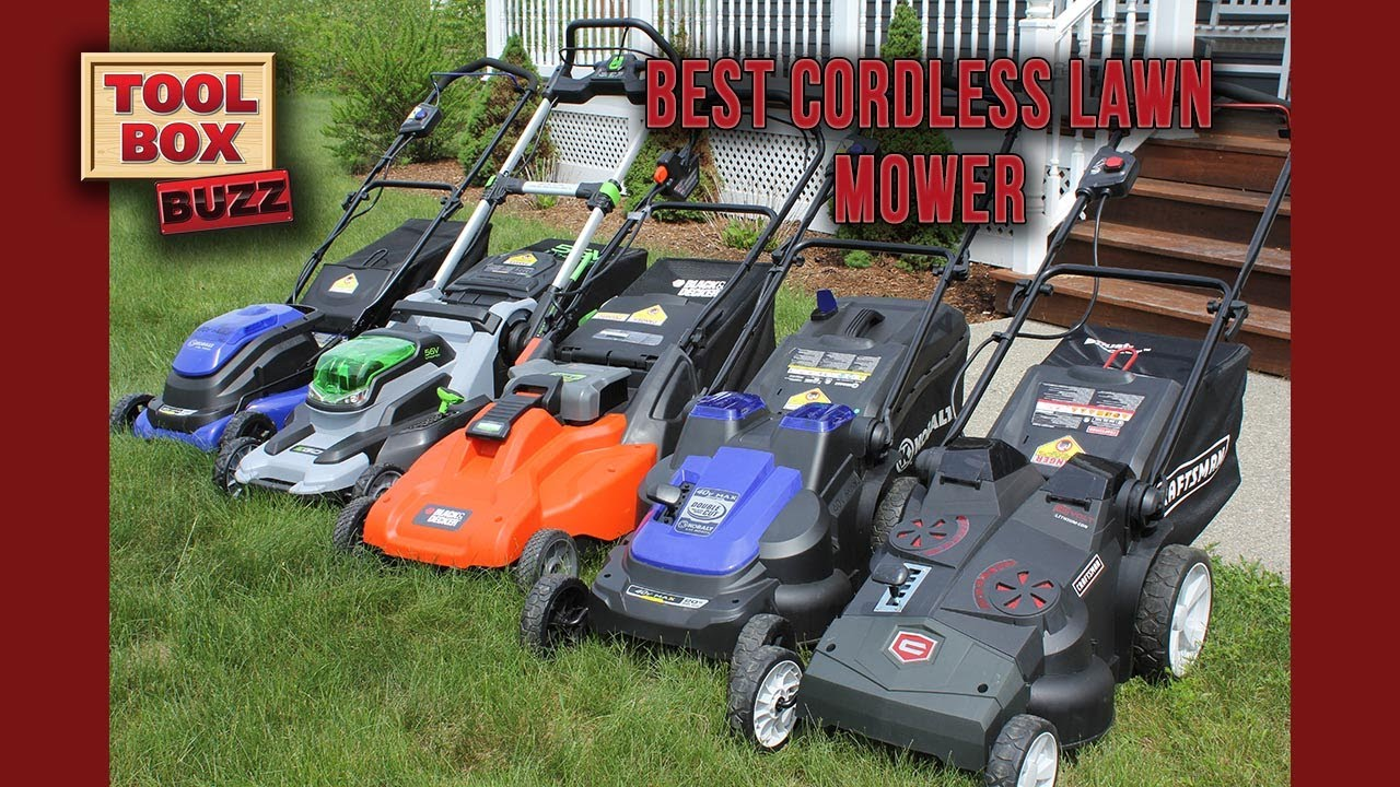 Best Cordless Lawn Mower Head To Head Youtube