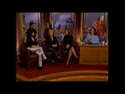 """The Go-Gos : """"Unforgiven"""" Live on US TV and interview"""