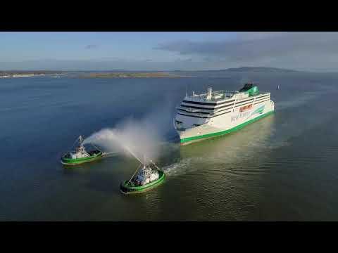 W.B. Yeats Arrival in Dublin Port - long