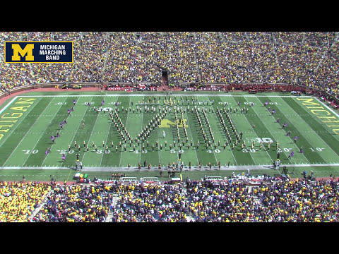 """John Williams"" - September 9, 2017 - The Michigan Marching Band"