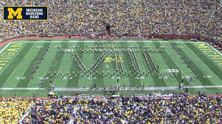 """John Williams"" - September 9, 2017 - The Michigan Marching Band"