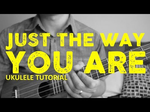 Bruno Mars - Just the Way You Are - EASY Ukulele Tutorial - Chords - How To Play