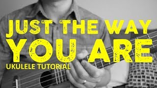 Bruno Mars - Just The Way You Are [EASY Ukulele Tutorial] - Chords - How To Play